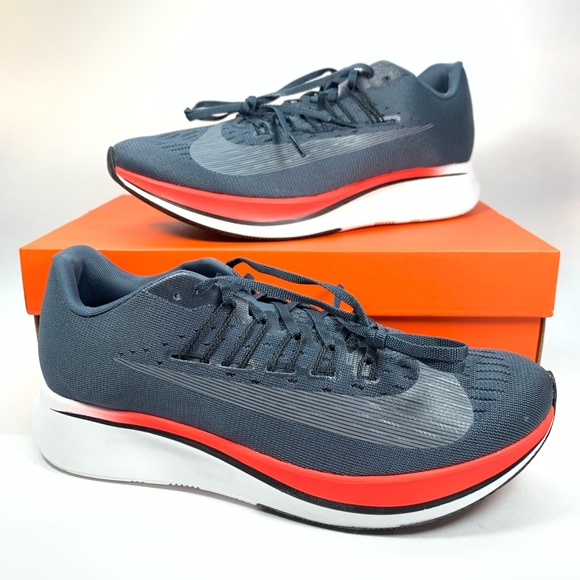 792f769106704 MEN S NIKE ZOOM FLY BLUE FOX BLACK Size 10